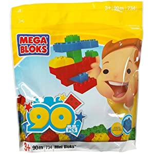 90-Piece Mega Blocks Bag