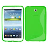 Samrick S Wave Hydro Gel Protective Case for 7.0 inch Samsung Galaxy Tab 3 P3200/P3210 - Green
