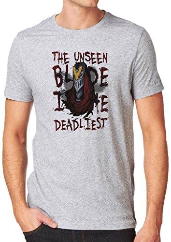 League of Legends Zed Deadliest Blade Shirt Custom Made T-shirt (L)