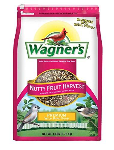 wagners-62072-nutty-fruity-harvest-wild-bird-food-blend-6-pound-bag