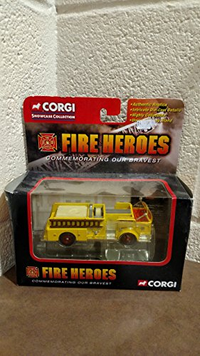 CORGI FIRE TRUCK HEROES 1960 ALF 900 SERIES PUMPER Conschocken PA Yellow