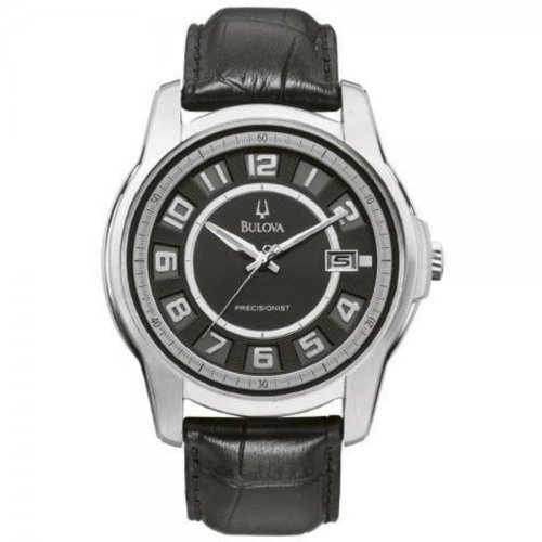 Bulova 96B127 Precisionist Claremont Stainless Steel Padded Strap Watch