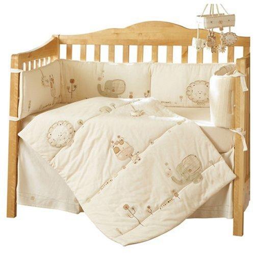 Nature's Purest Sleepy Safari Crib Set