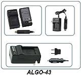 GOPRO - Chargeur secteur - voiture - pour batterie AHDBT-201-301-302 - Magasin en FRANCE...
