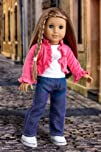 City Chic – 4 piece outfit includes pink ruffled jacket, white t-shirt with butterfly, jeans and…