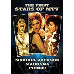 Prince, Madonna & Michael Jackson - The First Stars Of MTV (3DVD)