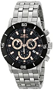 Invicta Men's 0389 Specialty Analog Display Swiss Quartz Silver Watch