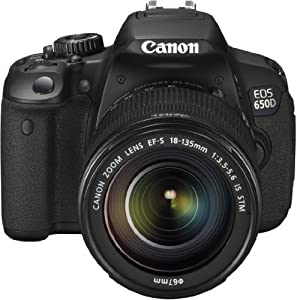 Canon EOS 650D Kit IS II 18-135mm IS STM