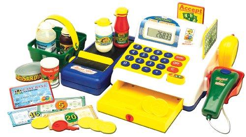 Caja registradora en la gu a de compras para la familia - Caja registradora juguete ...