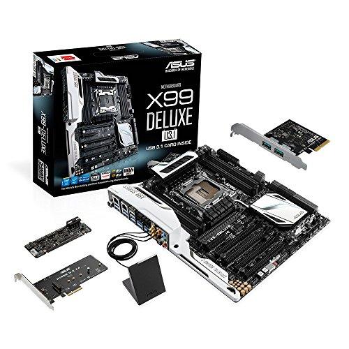 ASUS ATX DDR4 3000 LGA 2011-3 Motherboards X99-DELUXE/U3.1