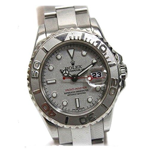 ROLEX(ロレックス) ヨットマスター ロレジウム レディース腕時計 SS プラチナベゼル 自動巻き 169622 D番 [中古]