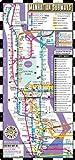 Streetwise Manhattan Bus Subway Map - Laminated Metro Map of Manhattan, New York - Pocket Size