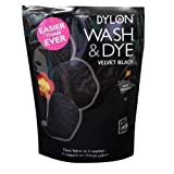 2 x Caraselle Dylon Wash & Dye Velvet Black 400g