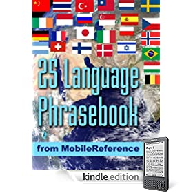 Advanced 25 Language Phrasebook from Mobile Reference eBook: MobileReference