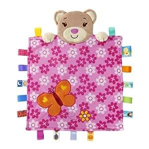 Taggies Peek-a-Boo Bear (Pink)
