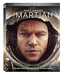 The Martian [Blu-ray 3D + Blu-ray + DVD]