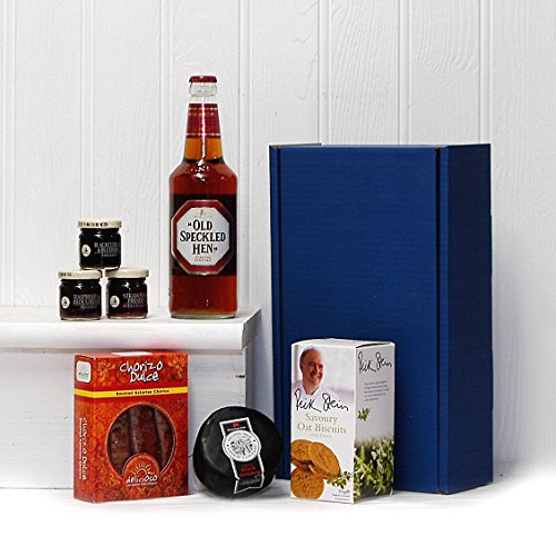 Ultimate Old Speckled Hen Gents Delights Hamper - Blue Gift Box Gift ideas for - Valentines,Presents,Birthday,Men,Him,Dad,Her,Mum,Thank you,Wedding Anniversary,Engagement,18th,21st,30th,40th,50th,60th,70th,80th,90th