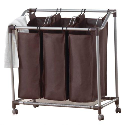 Neatfreak U5440-Efe Deluxe Triple Laundry Sorter With Everfresh