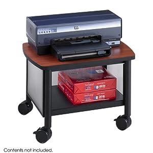 Impromptu Under Table Printer Stand Black