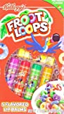 Kellogg's Froot Loops Fruit Flavoured Lip Balms - 5 Pack - USA Stock