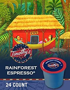 Timothy's World Coffee K-Cup Portion Pack for Keurig K-Cup Brewers from Green Mountain Coffee