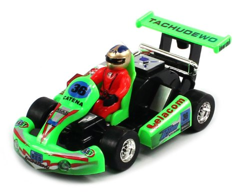EXCITING FUN SIZE Electric Full Function 1:23 Mini Go Kart Racing RTR RC Car (Colors May Vary) RECHARGEABLE!
