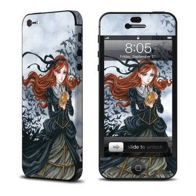 Apple iPhone 5用スキンシール 【Raven's Treasure】