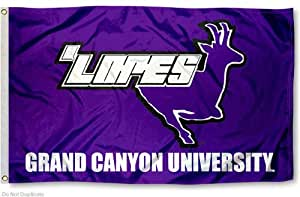 grand canyon university lopes 3x5 flag outdoor flags sports outdoors. Black Bedroom Furniture Sets. Home Design Ideas