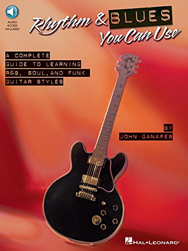 Rhythm & Blues You Can Use (Book/CD), by John Ganapes