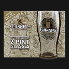 Collectors 2013 Guinness Pint Glass 2 Pk