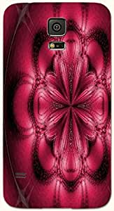 Attractive multicolor printed protective REBEL mobile back cover for Samsung Galaxy S5 / SM-G900I D.No.N-T-1650-S5