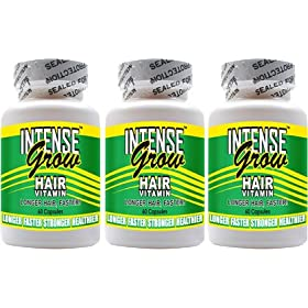 Intense Grow Hair Vitamins