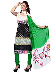 Cenizas embroidered Semi Stich Salwar Suit Duptta (2010Q)