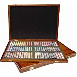 Mungyo MOP-72W Martin Gallery Oil Pastel 72-Piece Color Set in Wooden Case