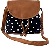 #3: Kleio Women's Sling Bag (Black And Brown,Bnb315Ly-Bl)
