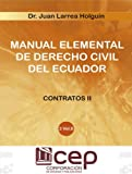 img - for Manual Elemental de Derecho civil III Vol VIII: Contratos II (Spanish Edition) book / textbook / text book