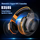 Kotion Each B3505 Wireless Bluetooth 4.1 Stereo Gaming Headphone Headset Support NFC With Mic For Iphone6/iphone6...