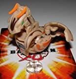 BAKUGAN SEASON 3 LOOSE W/ DNA CODES SUBTERRA TAN CHANCE DRAGONOID W/ DICE 800G