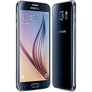 Samsung Galaxy S6 SM-G920F (Latest Model) 32GB Sapphire Black (Unlocked) Smartphone EU Spec (Sapphire Black)