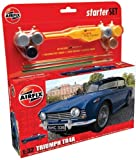 Airfix A50092 Triumph TR4A 1:32 Scale Model Medium Starter Set