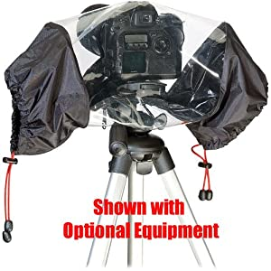 Kata KT PL-E-702 Rain Cover for DSLR with Up To 70- 200mm Lens Attached; manu. price = $69.88