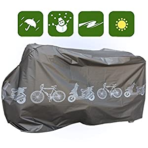 Bicycle Cover Vintage Mountain Electric Bike Mope Protector Waterproof WBK1B