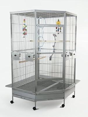 Cleo Huge Corner Parrot Cage
