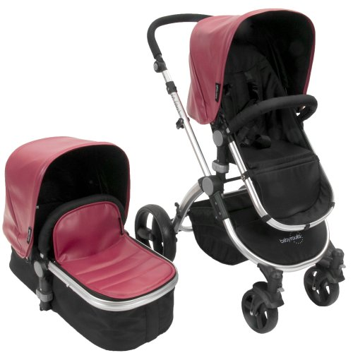 babyroues letour II Lux, Raspberry - 1