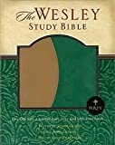 img - for NRSV Wesley Study Bible - Green/Brown Faux Leather Edition: New Revised Standard Version book / textbook / text book