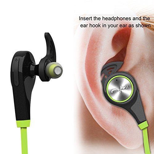 bluetooth headphones wireless earbuds bluetooth headset with mic sports running earphones for. Black Bedroom Furniture Sets. Home Design Ideas