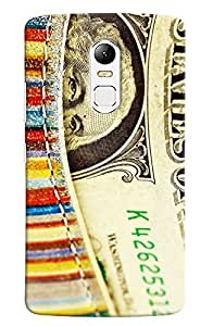 Omnam United States Of America Currency Printed Designer Back Case For Lenovo Vibe X3