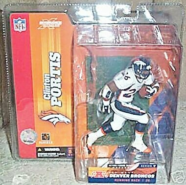 Buy Low Price McFarlane Sports Picks NFL Series 7 Clinton Portis White Jersey Variant Figure (B000WBKNFO)