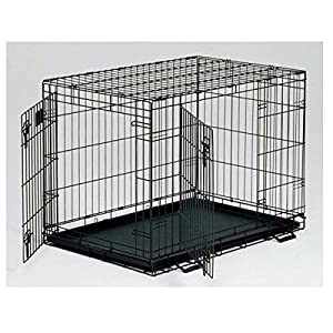 "MidWest Life Stages Fold & Carry Double Door Pet Home Crate- 24""l x 18""w x 21""h 1624dd model from Midwest"