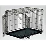 "Midwest Life Stages Double Door Dog Crate 36"" x 24"" x 27"" (Set of 3)"